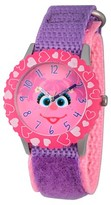 Sesame Street Stainless Steel Time Teacher Watch - Purple