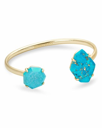Kendra Scott Cynthia Cuff Bracelet for Women Fashion Jewelry 14k Gold Plated