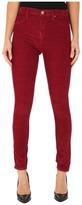 Blank NYC Rose Red Corduroy Skinny in Pop Berry