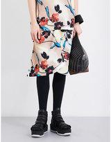 Marni Lucid-print Crepe Midi Skirt