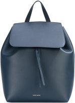 Mansur Gavriel flap backpack - women - Leather - One Size