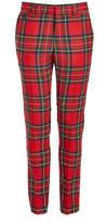 Burberry Virgin Wool Tartan Pants