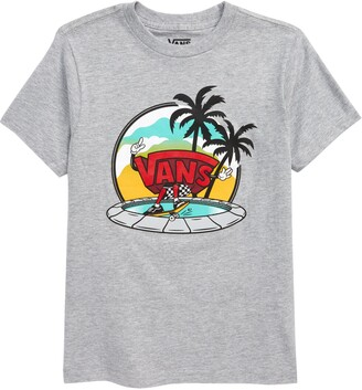 Vans Kids' Dual Palms Grind Graphic Tee