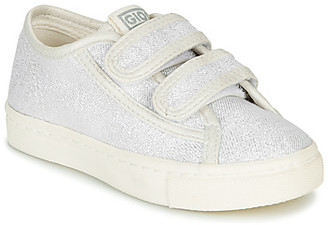 GIOSEPPO OMEGNA girls's Shoes (Trainers) in Silver