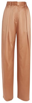Michael Lo Sordo Silk Trousers