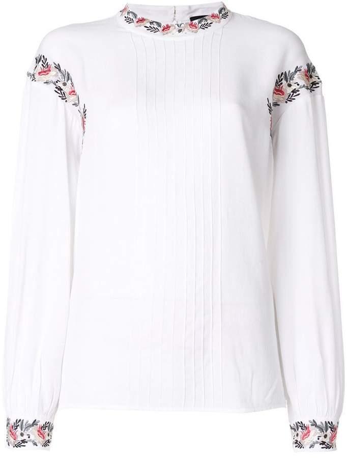 Steffen Schraut embroidered blouse