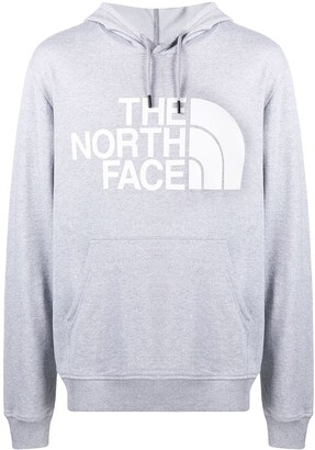 The North Face Logo Print Hooded Sweatshirt