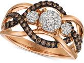 LeVian Le Vian® Chocolatier Diamond Ring (1/2 ct.t.w.) in 14k Rose Gold