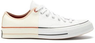 Converse Chuck 70 Two-tone Canvas Trainers - White
