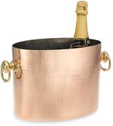 Mauviel Hammered Copper Champagne Bucket
