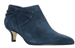 Bella Vita Frances Kitten Heel Booties Women's Shoes