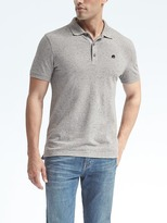 Banana Republic Slim Neps Signature Pique Polo