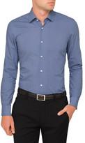 HUGO BOSS Diamond Spot Print Single Cuff Shirt