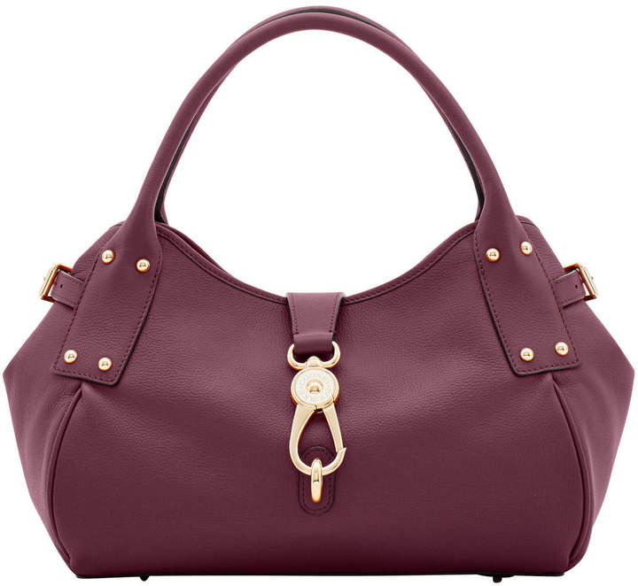 Dooney & Bourke Belvedere Medium Logo Lock Satchel