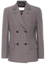 Maison Margiela Wool and mohair check jacket