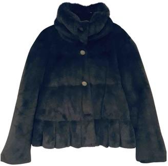 Armani Collezioni Green Faux fur Coat for Women