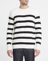 Eleven Paris Ecru Edriss Sailor-Stripe Sweater