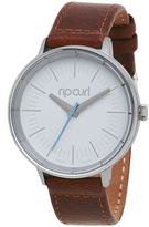 Rip Curl Lindsay Pu Leather Watch Brown