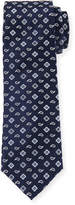 Bugatchi Floral Dot-Print Silk Tie