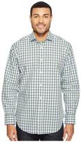 Thomas Dean & Co. Long Sleeve Check Sport Shirt