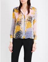 Diane von Furstenberg Carter silk-chiffon shirt