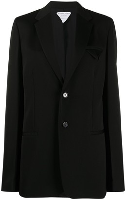 Bottega Veneta Straight Single-Breasted Blazer