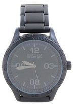 Kenneth Cole Reaction Unisex RK3256 Street Collection Analog Display Japanese Quartz Black Watch