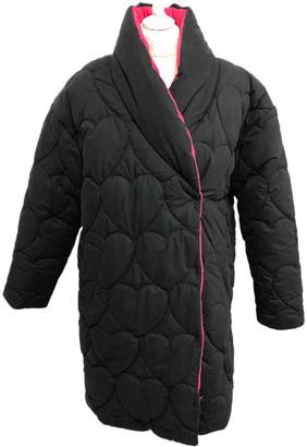 Lazy Oaf Black Polyester Coats