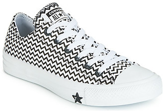 Converse CHUCK TAYLOR ALL STAR VLTG LEATHER OX women's Shoes (Trainers) in White
