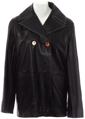 Ellery Black Leather Jacket for Women