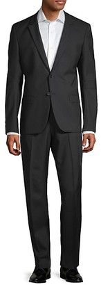 HUGO BOSS Extra Slim-Fit Marzotto Anfred Wool Suit