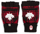 Canadian Olympic Team Collection Buffalo Check Flip-Top Mittens