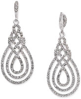 INC International Concepts Pavé Open Saturn Drop Earrings, Only at Macy's
