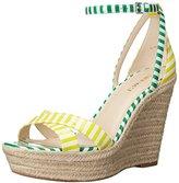 Nine West Women's Joker Synthetic Wedge Sandal