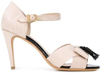 Fratelli Rossetti 90mm Tassel Sandals