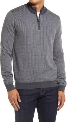 Brax Steffen Quarter Zip Sweater