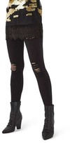 Topshop Women's Ripped High Waist Ankle Skinny Jeans
