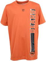 adidas Boys' Chicago Bears Shatter Text Dri-Tek T-Shirt