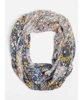 Dorothy Perkins Womens Cream Patchwork Floral Snood- Cream