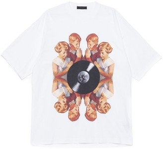 Undercover Record Print T-Shirt