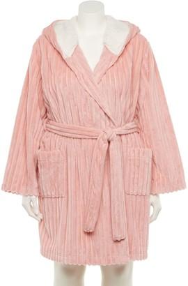 Lauren Conrad Plus Size Textured Robe