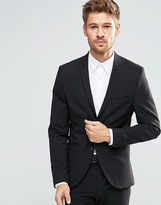 Selected Super Skinny Suit Jacket with Stretch