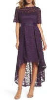 Adrianna Papell Women's High/low Lace Dress