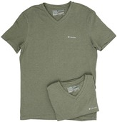 Columbia Performance Cotton V-Neck T-Shirt 2-Pack