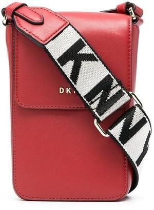 DKNY Logo-Lettering Crossbody Bag