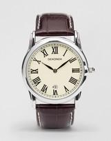 Sekonda Leather Strap Watch 3018