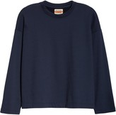 Eileen Fisher Organic Cotton Terry Boxy Pullover
