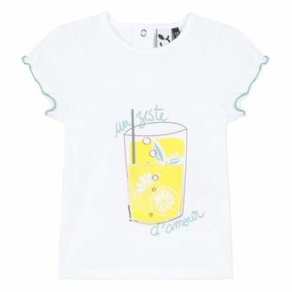 3 Pommes Baby Girls' 3q10102 Tee Shirt Mc T