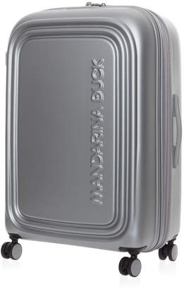 Mandarina Duck Logo Duck Large Trolley Luggage