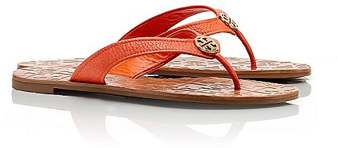 Tory Burch Tumbled Leather Thora 2 Sandal